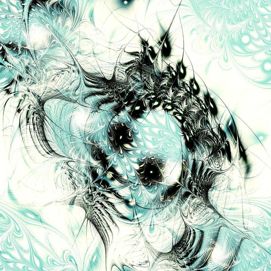 Iphone 5 Falling Snow Wallpaper Snowy Owl Digital Art By Anastasiya Malakhova
