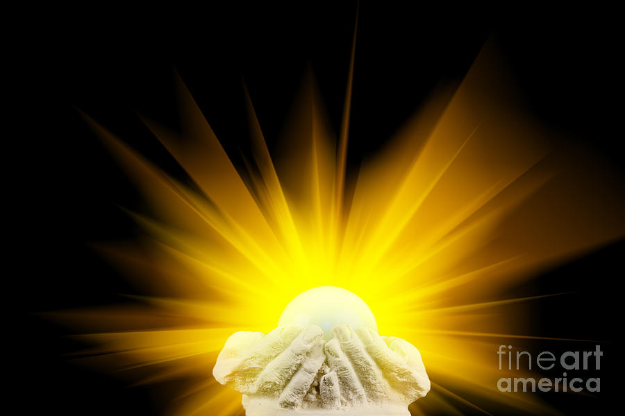 Apps For Quotes Wallpapers Spiritual Light In Cupped Hands Photograph By Simon Bratt
