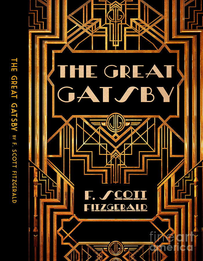 Quotes Live Wallpaper Android The Great Gatsby Book Cover Movie Poster Art 6 Digital Art