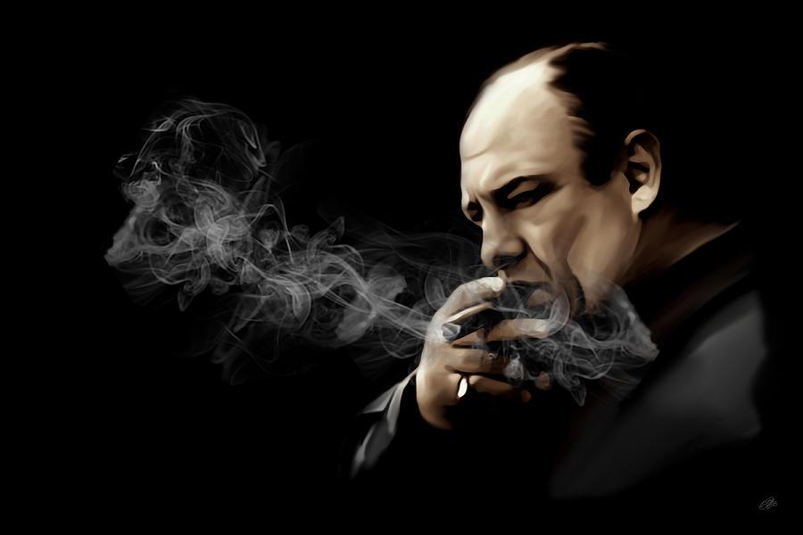 Al Capone Quotes Iphone Wallpaper Tony Soprano Digital Art By Laurence Adamson