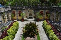 Vizcaya Mansion Museum Grounds Botanical Gardens Courtyard ...
