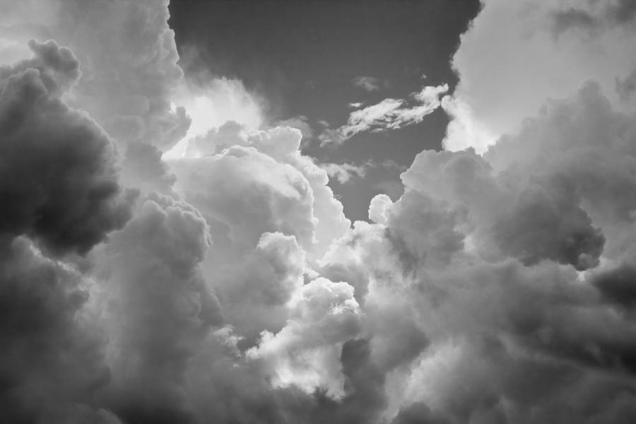 Snow Falling Wallpaper For Ipad Black And White Sky With Building Storm Clouds Fine Art