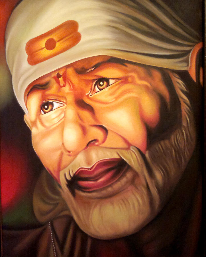 Sai Baba Wallpaper Download 3d Divine Power Digital Art By Rajesh Kansara
