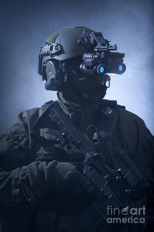 Special Forces Iphone Wallpaper Special Operations Forces Soldier Photograph By Tom Weber