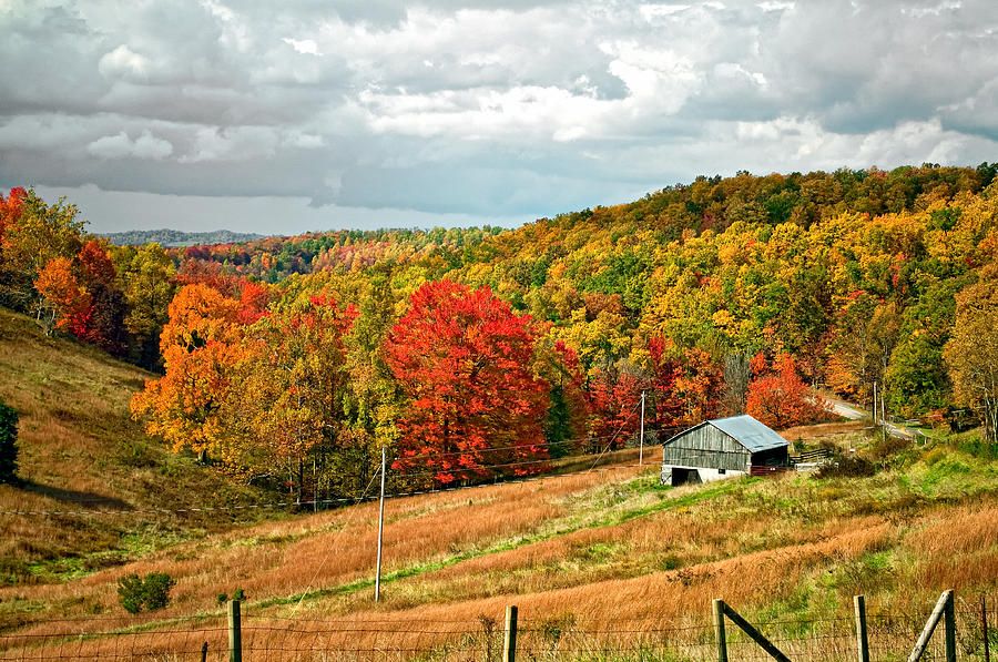 Fall Scenes Wallpaper With Pumpkins Autumn Farm 2 Photograph By Steve Harrington