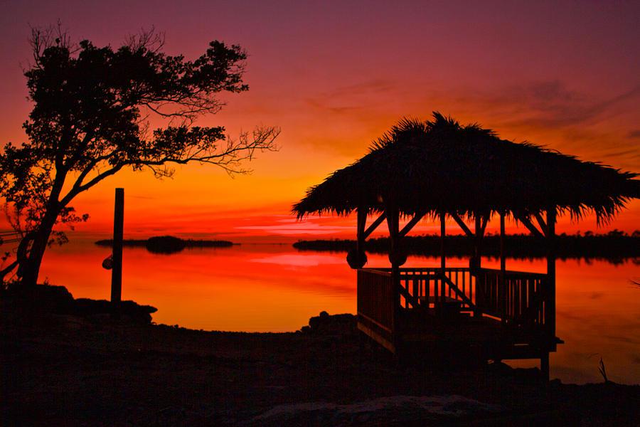 Iphone X Inside Wallpaper Hd Bahamas Sunset Photograph By Chris Wilson