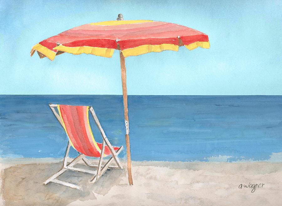 Gallery for gt cartoon beach chair and umbrella