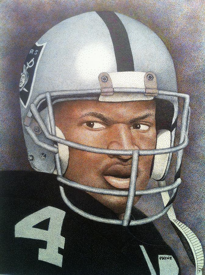 Travel System Toddler Bo Jackson Painting By Rob Payne