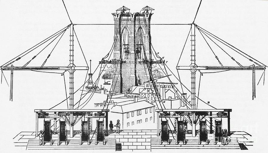 brooklyn bridge diagram