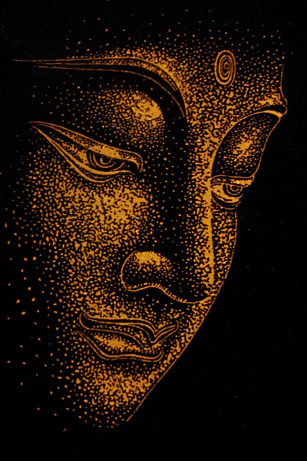 Lord Buddha 3d Wallpapers For Mobile Buddha Painting By Dinushi Liyanage