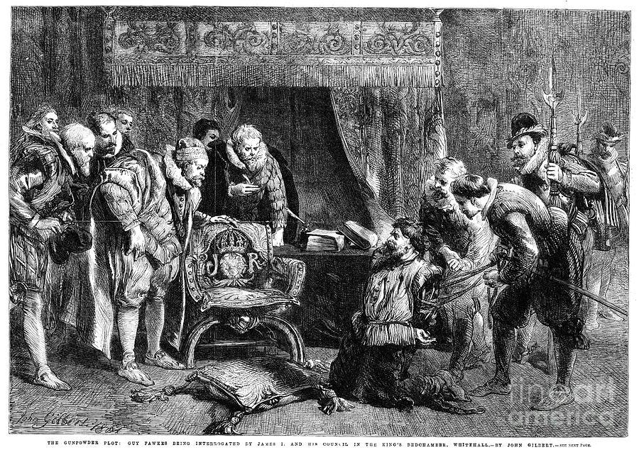 Gunpowder Plot 1605 Photograph By Granger