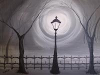 Lamp Light Painting by Wendy Smith