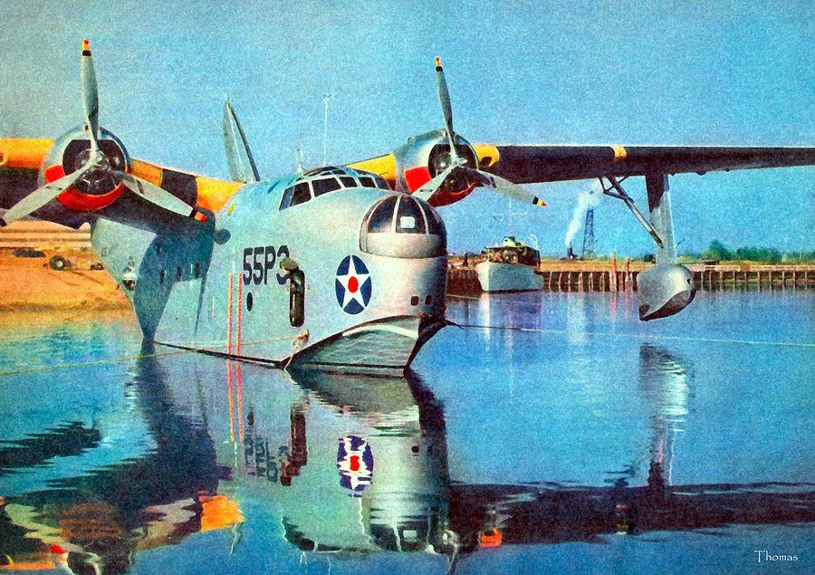 Pbm Seaplane Digital Art By Brad Thomas