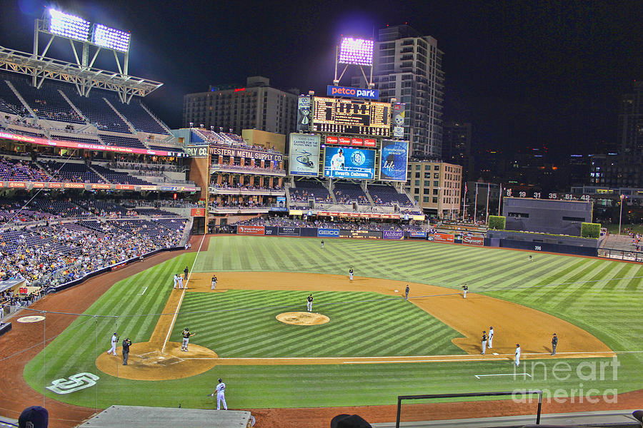 San Diego Chargers Iphone Wallpaper Petco Park San Diego Padres Photograph By Rj Aguilar