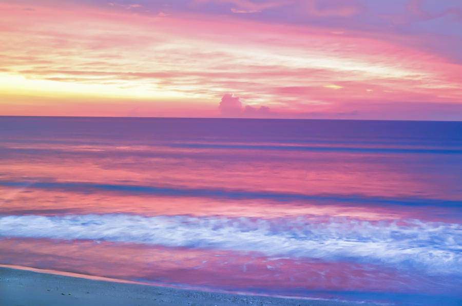3d Wallpaper App For Iphone Pink Ocean Sunrise Photograph By Patrick M Lynch