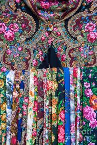 Russian Scarves Photograph by Boris Suntsov