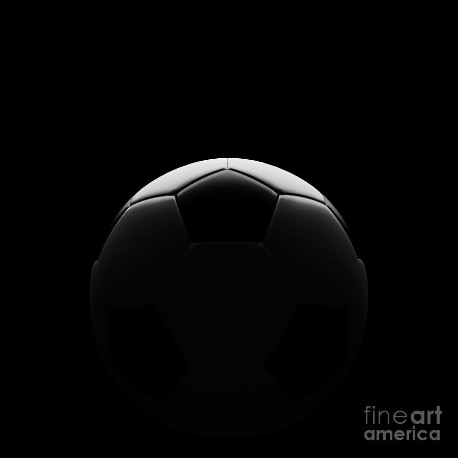 Iphone 4 Animated Wallpaper Soccer Ball On Black With Beautiful Back Lighting Digital