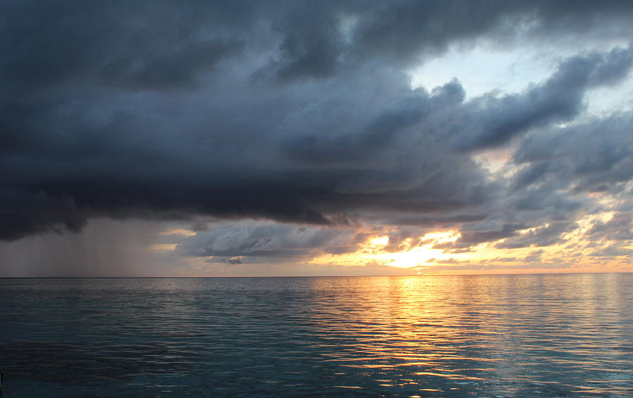 Chargers Iphone Wallpaper Sun And Rain In The Maldives Photograph By Denise Dean