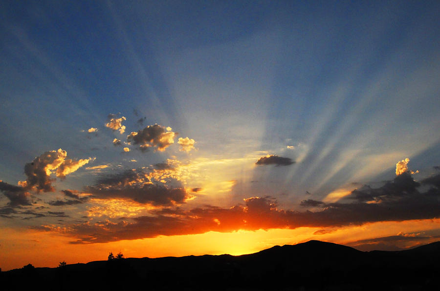 Los Angeles Quotes Wallpapers Sunset Sun Rays Photograph By Lynn Bauer