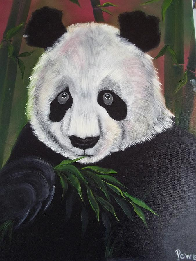 Travel System Toddler The Great Panda Bear Painting By Barbara Powell