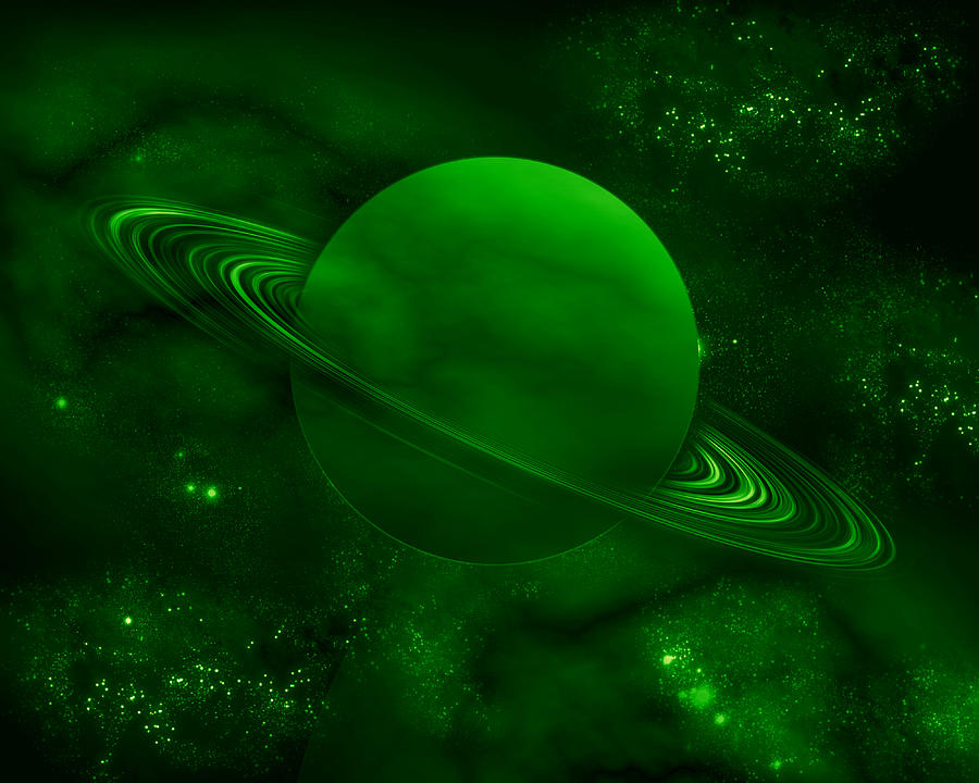 Iphone X Wallpaper Hd Black The Green Planet Digital Art By Rattanapon Muanpimthong