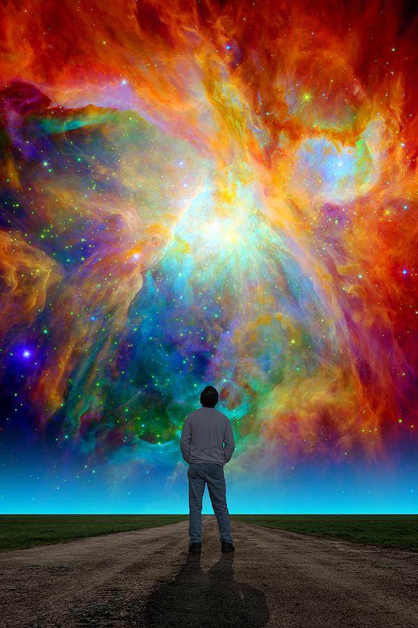 Nasa Iphone 5 Wallpaper The Orion Nebula Photograph By Larry Landolfi