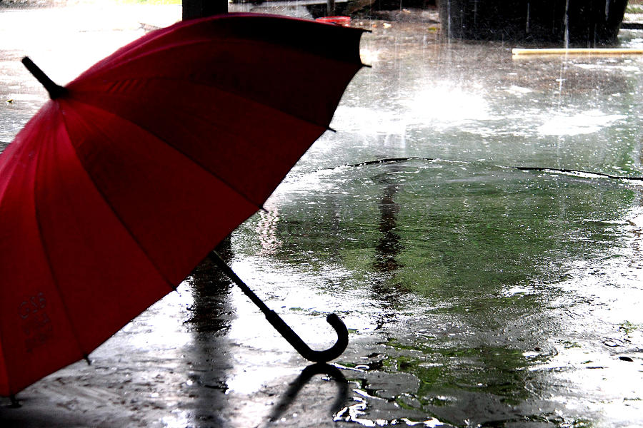 Fall Wallpaper For Android Umbrella In Rain Photograph By Dean Moriarty