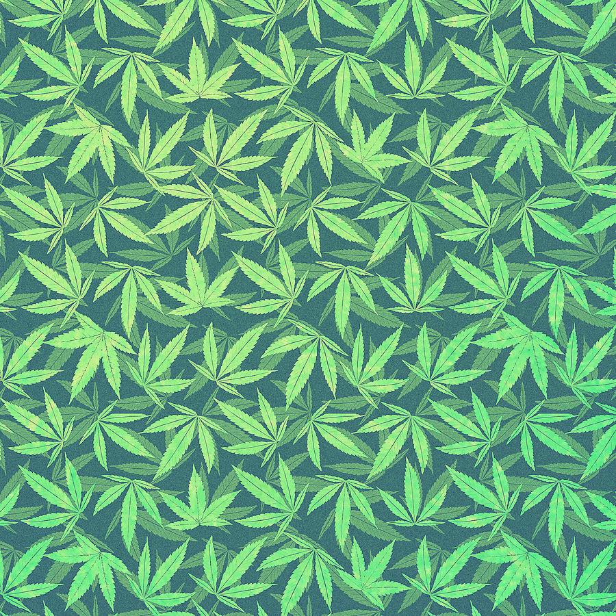 Japan Wallpaper Hd Iphone Cannabis Hemp 420 Marijuana Pattern Digital Art By Philipp