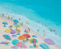 Beach Painting - Summer Love Painting by Jan Matson