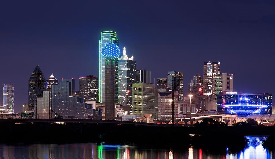 Dallas Cowboys Iphone 7 Wallpaper Dallas Skyline Cowboys Photograph By Rospotte Photography