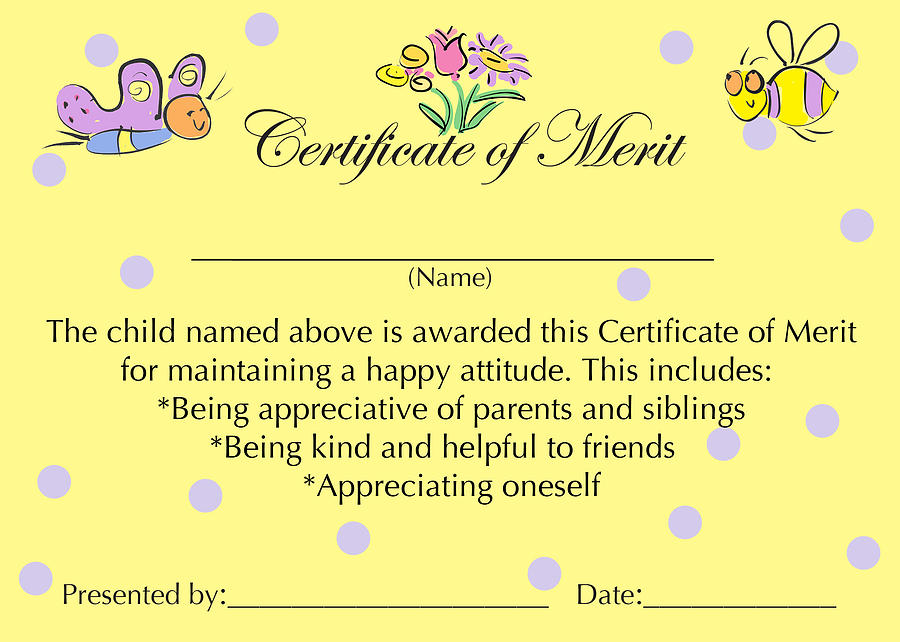 Merit Certificate Comments - Arch-times - merit certificate comments