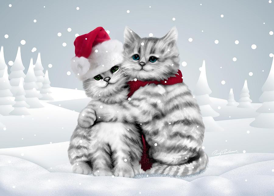 Tank Girl Wallpaper Android Christmas Hug Drawing By Cindy Anderson