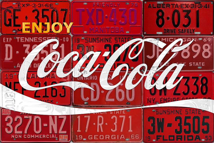 Old Iphone Wallpapers Coca Cola Enjoy Soft Drink Soda Pop Beverage Vintage Logo