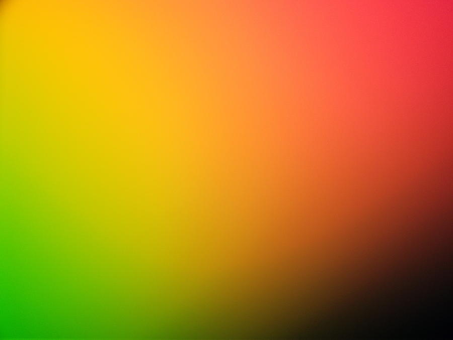 Color Gradient In Green, Yellow And Red Photograph by Greg Sawyer