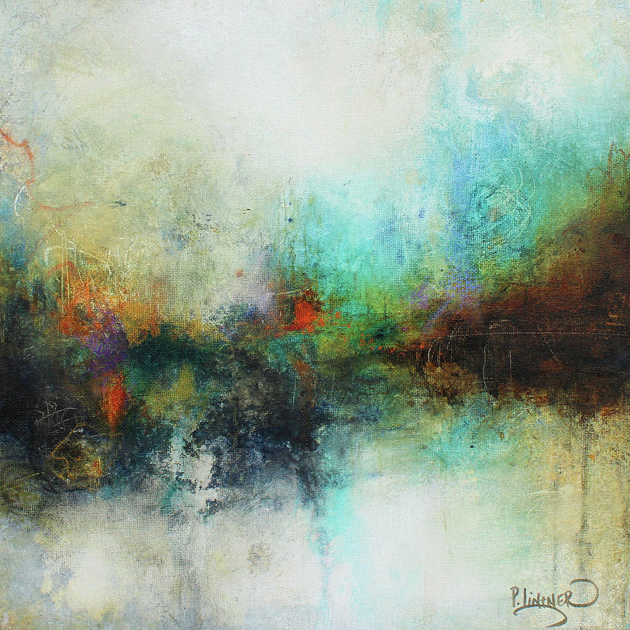 Contemporary Abstract Painting Contemporary Abstract Art Painting By Patricia Lintner
