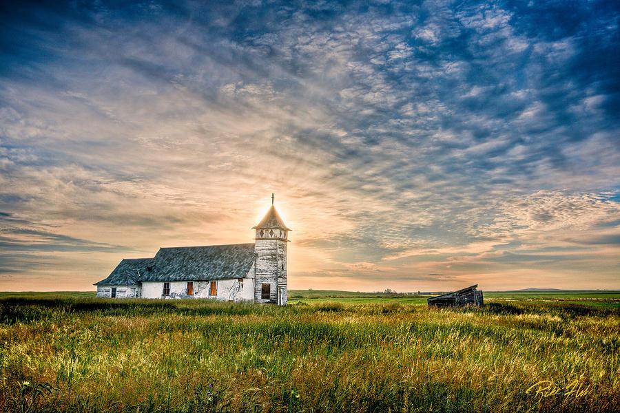 Fall Wooden Wallpaper Country Church Sunrise Photograph By Rikk Flohr