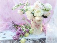 Dreamy Romantic Shabby Chic Spring Roses - Spring Romantic ...