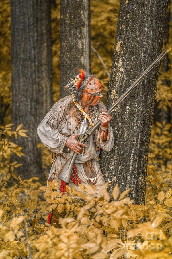 Fall Wallpaper Horses Fall Woodland Warrior Digital Art By Randy Steele
