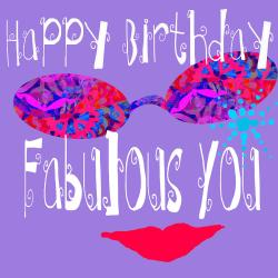 Small Of Happy Birthday Fabulous