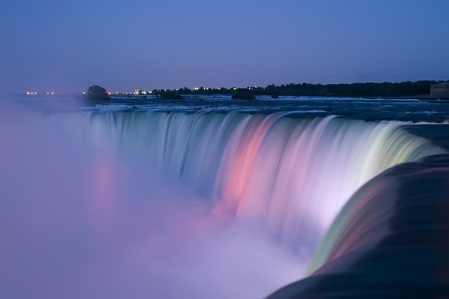 Niagara Falls Wallpaper For Ipad Niagara Falls At Dusk Photograph By Adam Romanowicz