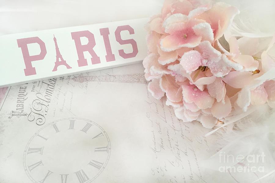 Wallpaper Hd Iphone Cute Men Paris Pink Pastel Hydrangeas Shabby Chic Pink Pastel