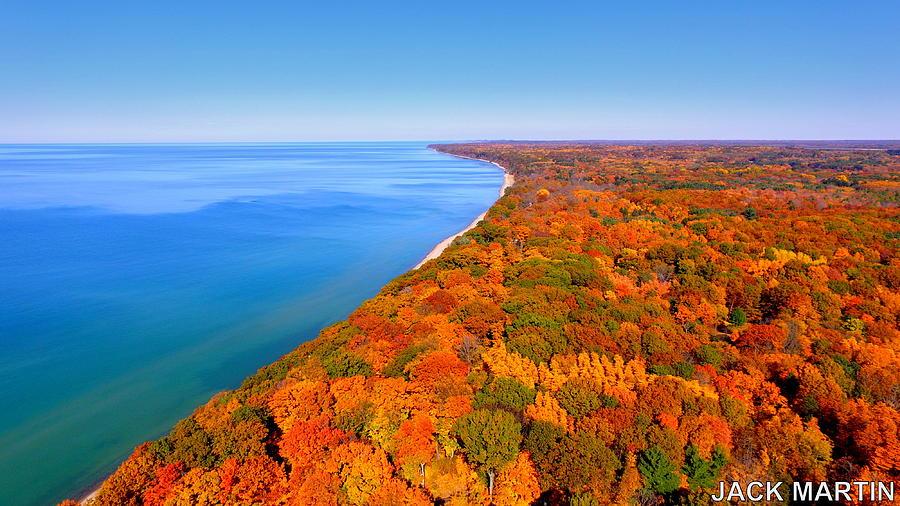 Pure Michigan Fall Wallpaper Pure Michigan Autumn Colors Lake Michigan Dreams