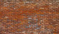 Red Brick Wall Photograph by Jera Sky