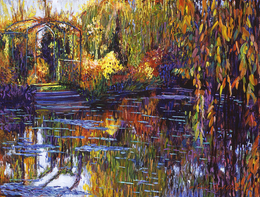 Wall Art Leinwandbilder Tapestry Reflections Painting By David Lloyd Glover