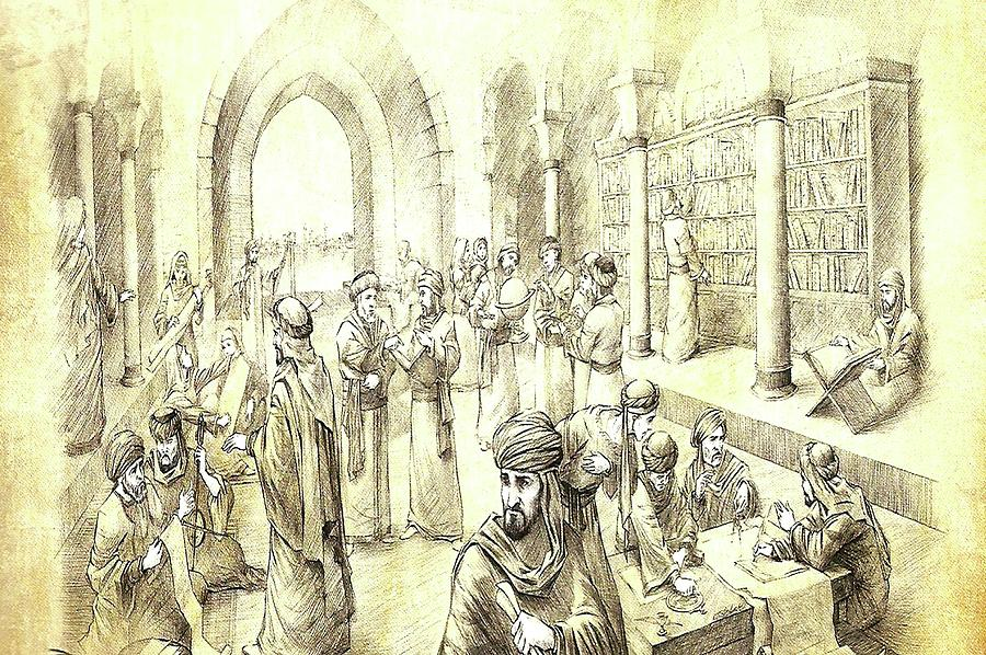 The House Of Wisdom, Bayt Al-hikma Digital Art by Umma Arts
