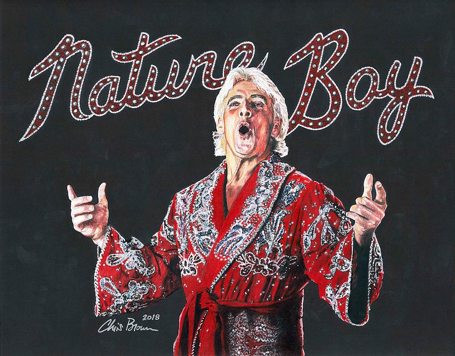The Nature Boy Ric Flair Drawing By Chris Brown