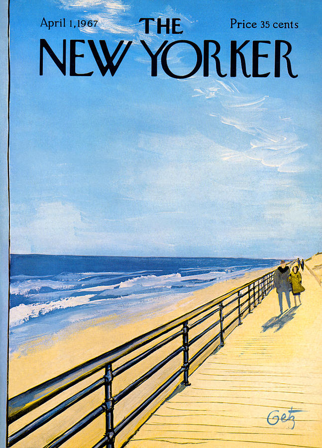 Baby Bags Vogue The New Yorker Cover April 1st 1967 By Arthur Getz