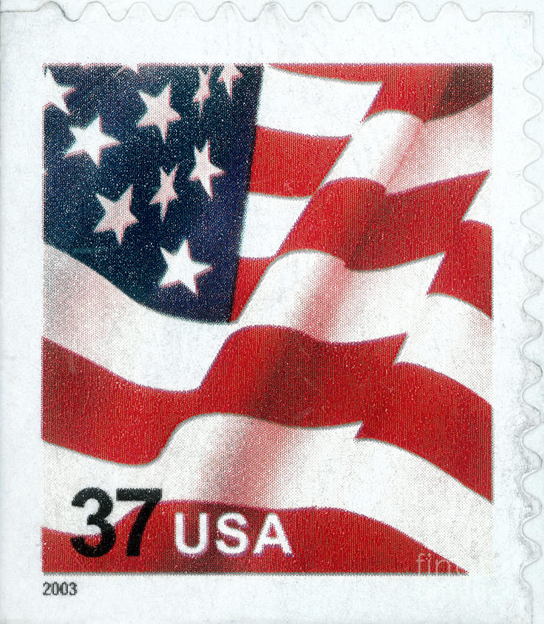 Fotos In Postergröße U.s. Postage Stamp, 2003 Photograph By Granger