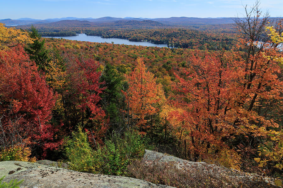 View From Bald Mountain Ny Photograph by MaryGail Perkins