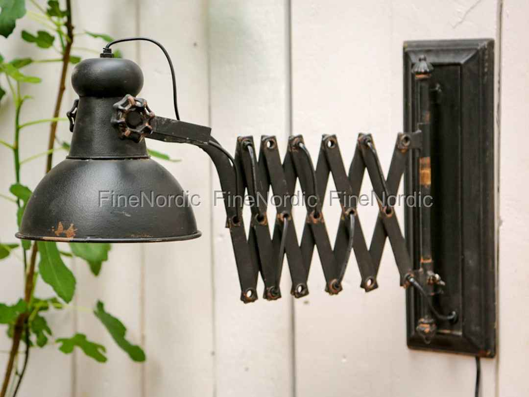 Antik Lampe Chic Antique Lampe Til Væg Factory Antik Sort